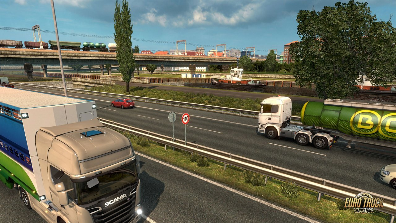 Play Euro Truck Simulator 2 online | Vortex Cloud Gaming
