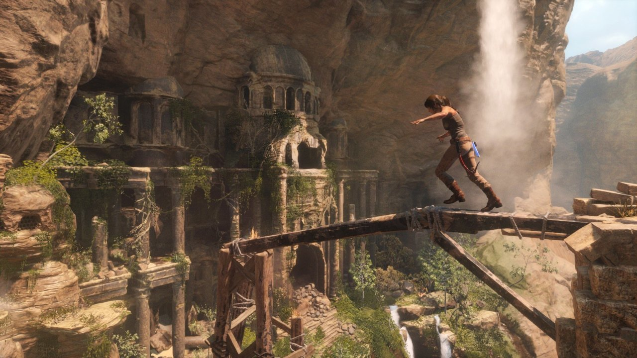 Play Rise of the Tomb Raider browser game | Vortex Cloud Gaming
