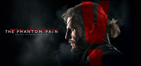 Cover METAL GEAR SOLID V: THE PHANTOM PAIN (MGS5)