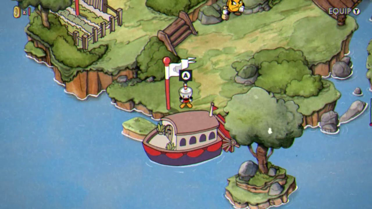 Cuphead online game - screenshot 1