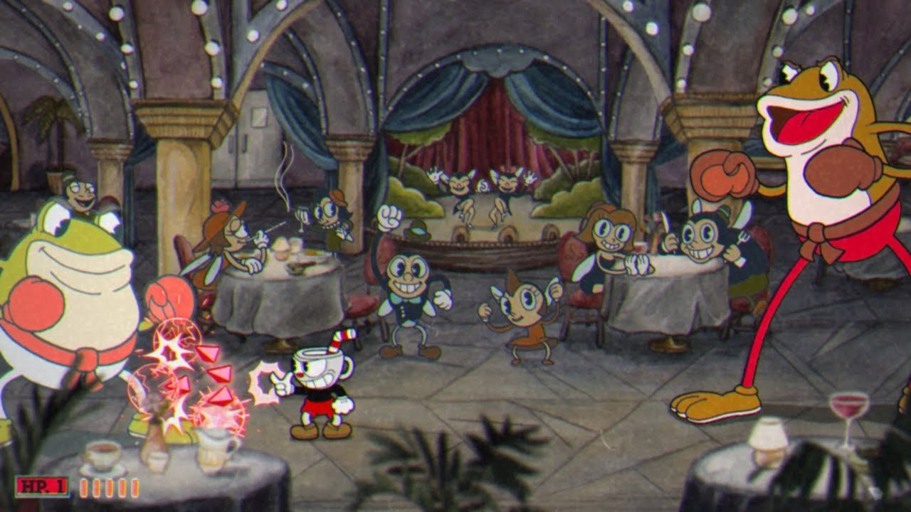 Cuphead games online - screenshot 4