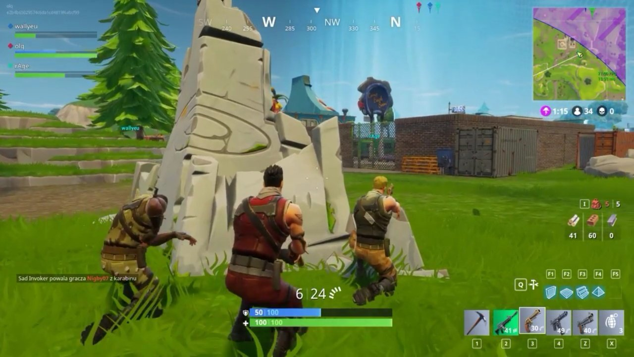 Play Fortnite Battle Royale online in a cloud
