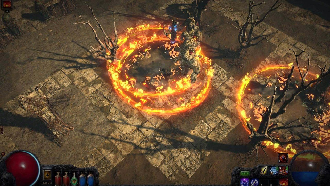 Path of Exile game - screenshot 3