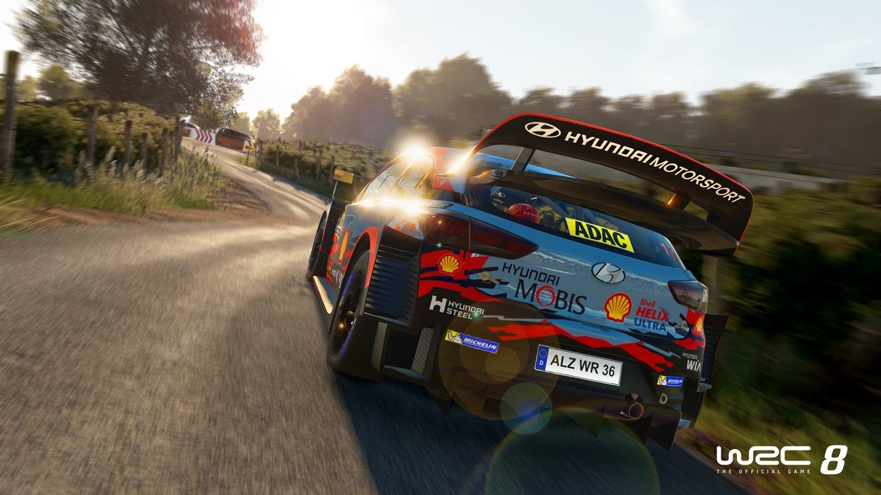 WRC8 online on Vortex game screenshot 1