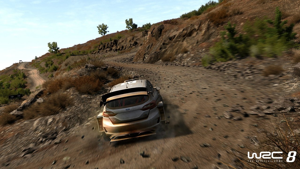 WRC8 online on Vortex game screenshot 2