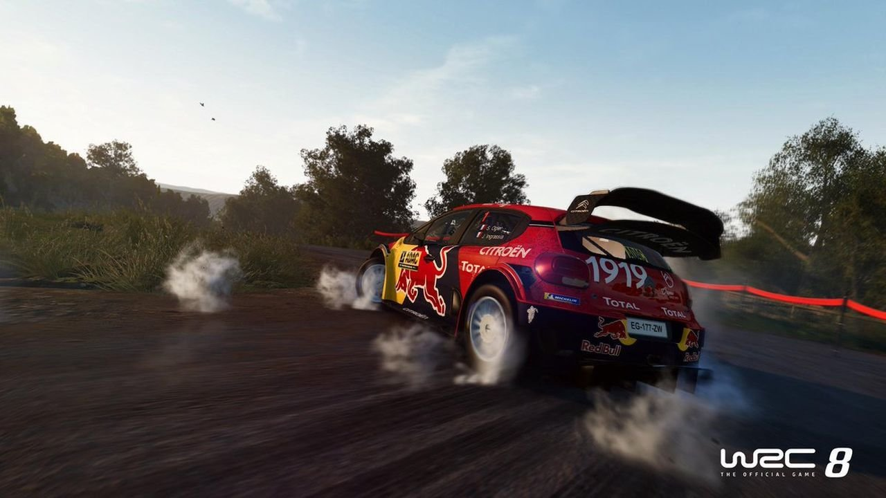 WRC8 online on Vortex game screenshot 3