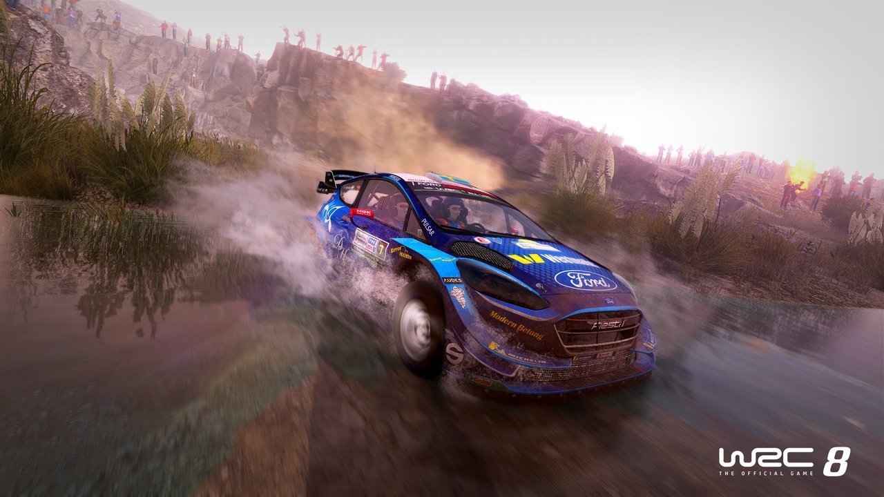 WRC8 online on Vortex game screenshot 4
